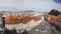 Graz - Hauptplatz, Schlossberg