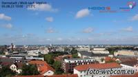 Darmstadt -Blick nach Westen
