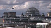 Berlin - Reichstag, Brama Brandenburska