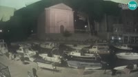 Veli Lošinj - Harbor, church