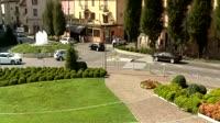 Sarnico - Rathaus - Brunnen