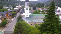 San Martin de los Andesas - Parroquia San José y calle Roca