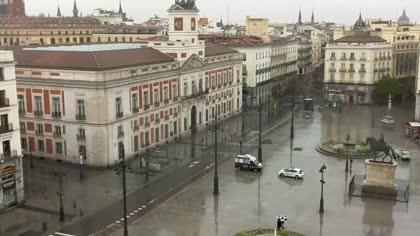 Madryt puerta del sol hiszpania kamery internetowe webcams - Webcam puerta del sol ...