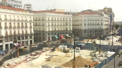 Madryt puerta del sol t o pepe hiszpania kamery internetowe webcams - Webcam puerta del sol ...