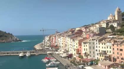 Portovenere deptak nadmorski w ochy kamery internetowe webcams - Bagno paradiso marina di carrara ...